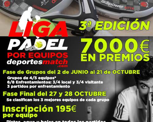 3ª Edicion Liga de Padel por Equipos