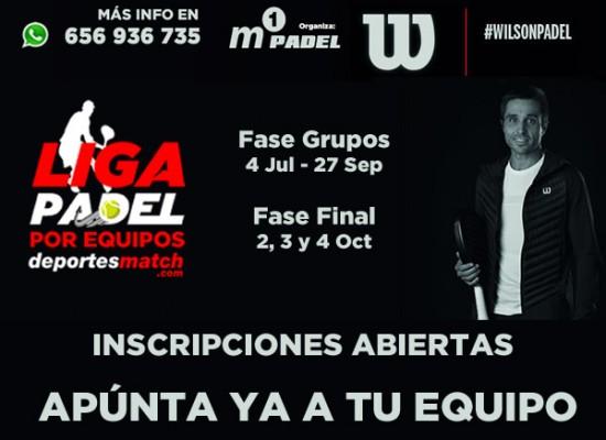 5ª Edición de la Liga de Padel por Equipos