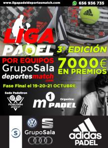 3ª Edición Liga Padel Por Equipos Grupo Sala