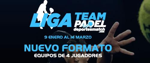 Nuevo Formato: Liga Team Padel